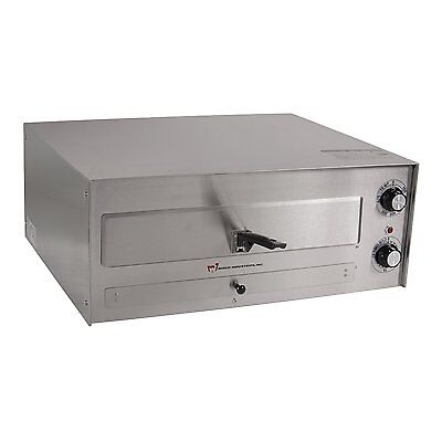 """Wisco 560E 16"""" Counter Top Stainless Steel Commercial Pizza Oven-Free Shipping!"""