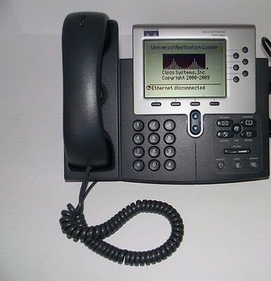Cisco CP-7960G 7960G Business Office VoIP IP Telephone Phone