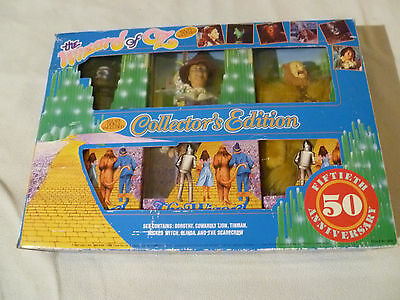 New In Box Vintage Wizard Of Oz Collectors Edition Doll Figure Set 1988 50Th Nib