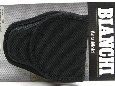 BIANCHI Black 7300 Hidden Snap ACCUMOLD Covered Group 2 HANDCUFF Cuff Case 23013