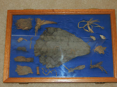 Pre-Historic Cave Artifacts, New Mexico