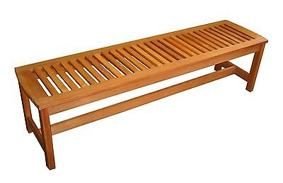 Phat Tommy Outdoor Patio & Garden Serenity Backless Bench Backyard Furniture