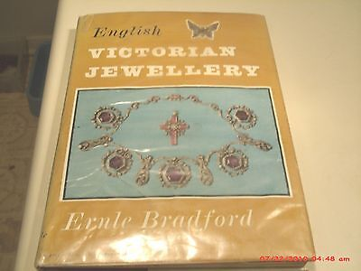 English Victorian Jewellery By Ernle Bradford Hcdj First Edition 1959