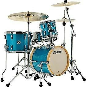 Sonor Martini 4 Piece Kit - SHELL PACK ONLY - Turquoise Galaxy Sparkle
