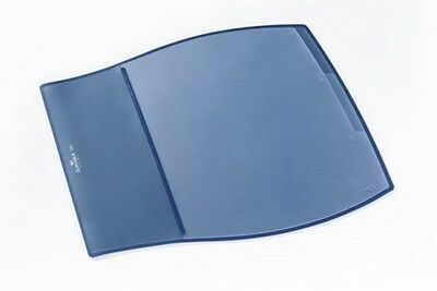 Durable Work Pad, Schreibunterlage mit transparentem Register, 44 x 39 cm, blau
