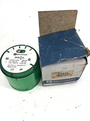 NEW IN BOX Telemecanique XVAC331 GREEN Indicator Light, FAST SHIPPING, (B271)