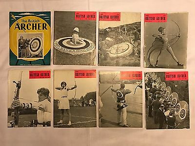 73 x The British Archer Magazines - Various Issues Spanning 1957 to 1989