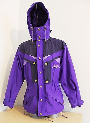 Mens Mover finland Jacket Parka Purple Winter Ski GoRETEX Mountain Snow Size L