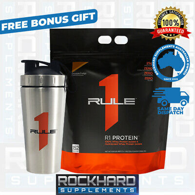 Rule One 1 Proteins R1 Protein Isolate 4.5kg 152 Srv WPI Virtually Lactose Free