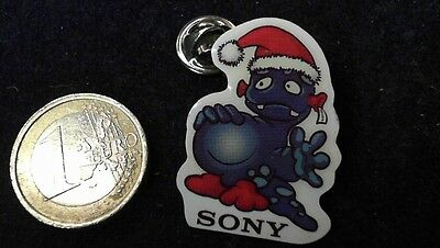 Sony Christmas Weihnachten Pin Badge