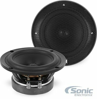 "NVX XSP525 80W RMS 5.25"" X-Series Component Car Stereo Mid-Bass Driver Speakers"