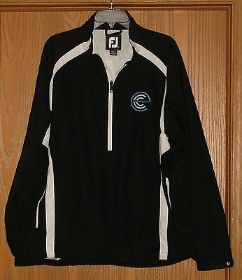Mens Footjoy 100% Nylon Water Resistant Golf Pullover Size Large !! Mint !!