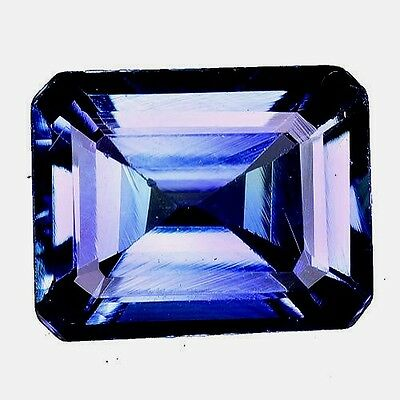 2.450Cts Attractive Luster Blue Natural Tanzanite Octagon Loose Gemstones