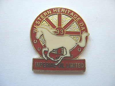 1993 Imperial Oil Lapel Pin - Western Heritage Day