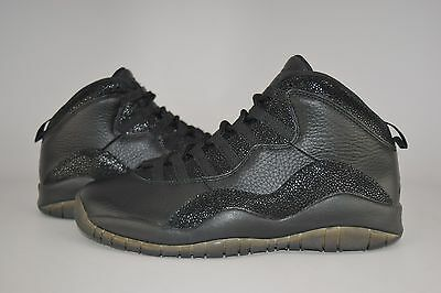 f68499f5de1 NIKE AIR JORDAN 10 Retro OVO Black Size 9 100% Guaranteed Authentic ...