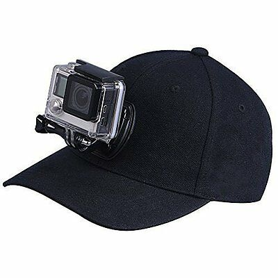 Cap Hat Quick Release Buckle Mount for GoPro Session, Hero 5/4/3 (57-59cm)