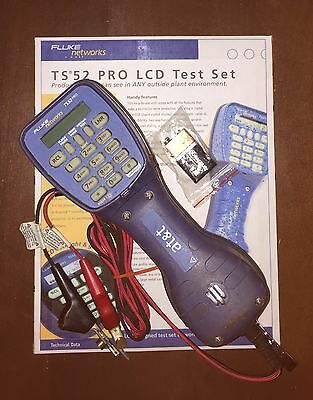Fluke Networks TS52 PRO Test Butt Set ==> Get FREE SHIPPING!