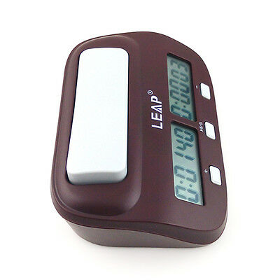 Chess Clock Scrabble I-go Count Up Down Timer GAME Competition PQ9907S