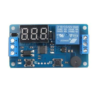 12V LED Display Timer Relay Programmable Module Delay Switch Car Buzzer Board AS