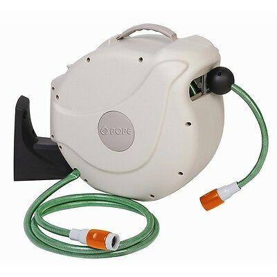 Pope 12mm x 20m Automatic Retractable Hose Reel