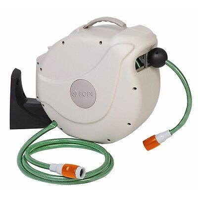 Pope 12mm x 30m Automatic Retractable Hose Reel