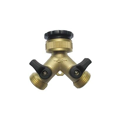 Pope 2 Way Brass Threaded Tap