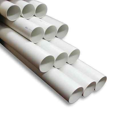 Holman 100mm x 3m PVC DWV Pipe