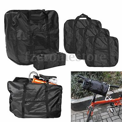 "Bicycle Bike Folding Carrier Bag Carry Cover For 14""-20"" Mountain + Storage Bag"