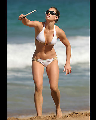 Jessica Biel 8X10 Photo Picture Pic Hot Sexy Tiny Little Bikini Candid 69
