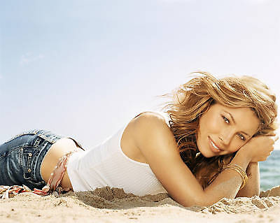 Jessica Biel 8X10 Photo Picture Hot Sexy Candid 16