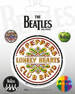 The Beatles Sgt. Pepper Vinyl Stickers New 100% Official Merchandise