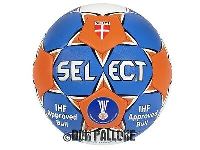 Select Ultimate Handball Wettspiel Ball Sport IHF Approved blau/orange Gr.1 - 3