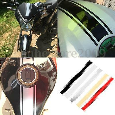 50cm Motorcycle Tank Cowl Vinyl Stripe Pinstripe Decal Sticker For Cafe Racer