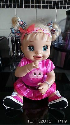 Baby Alive Pink Trainers