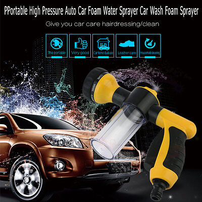 Portable High Pressure Auto Car Foam Water Sprayer Car Wash Foam Sprayer L0