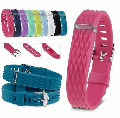 3D Replacement Wrist Band With Metal Buckle For Fitbit Flex Bracelet Wristband