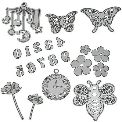 DIY Scrapbooking Album Embossing Paper Card Decor Metal Cutting Dies Stencil New