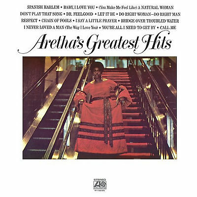 Aretha Franklin Aretha's Greatest Hits New Sealed Vinyl Lp Reissue In Stock