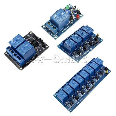 5V 1/2/4/8 Channel Relay Board Module Optocoupler LED for Arduino PiC ARM AVRC A