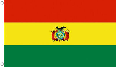 BOLIVIA FLAG 5' x 3' Bolivian South America Flags