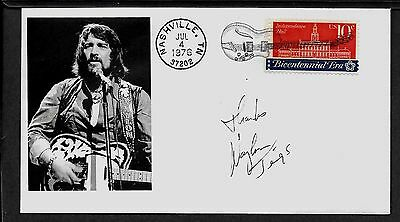 Waylon Jennings Country Music Limited Edition Collector's Envelope *X330