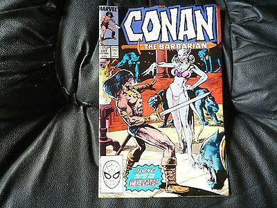 Conan the  Barbarian #  227 in nice condition  but for slight damp problem