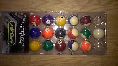 Pack Of Riley Pool Balls - New And Sealed - 47.6Mm