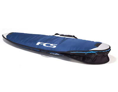 "FCS Dual Shortboard Surfboard Bag (Blue, 6'7"") Mens Unisex Surfing Surf"