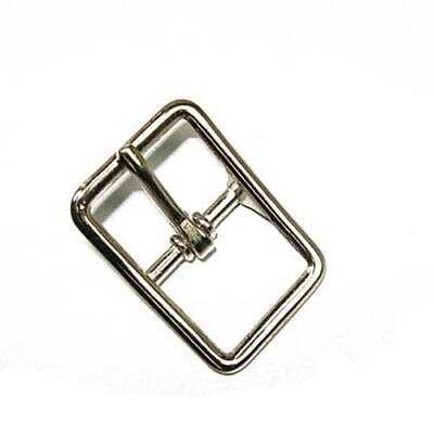 Bridle Buckle Nickel Plated 1""
