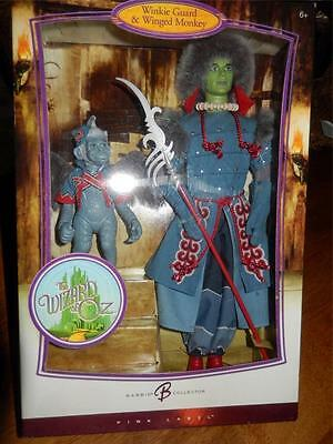 Winkie Guard & Winged Monkey Wizard of Oz Barbie Collection 2006 NRFB Pink Label