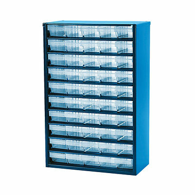 50 Drawer Metal Storage Unit Cabinet Organiser For Small Items Screws/Nails/Plug
