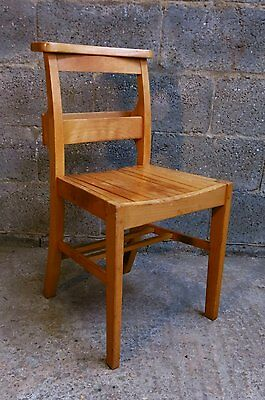 Classic British Army 1968 Slatted Seat Church Chair | we deliver
