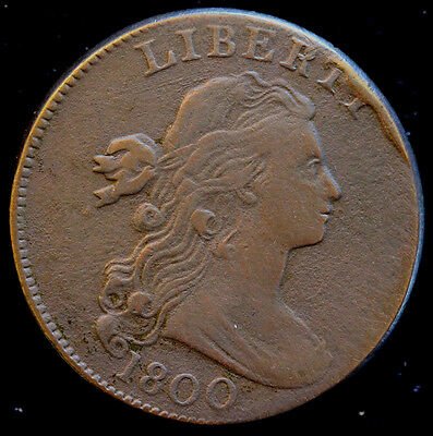 1800 S-208 Draped Bust Large Cent