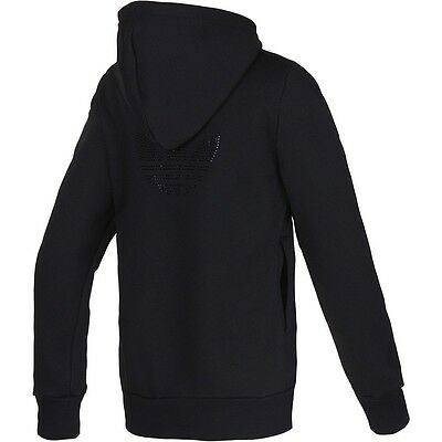 Adidas Originals Rs Diamante Hooded Track Top Hoodie woman's girls size 6 & 8